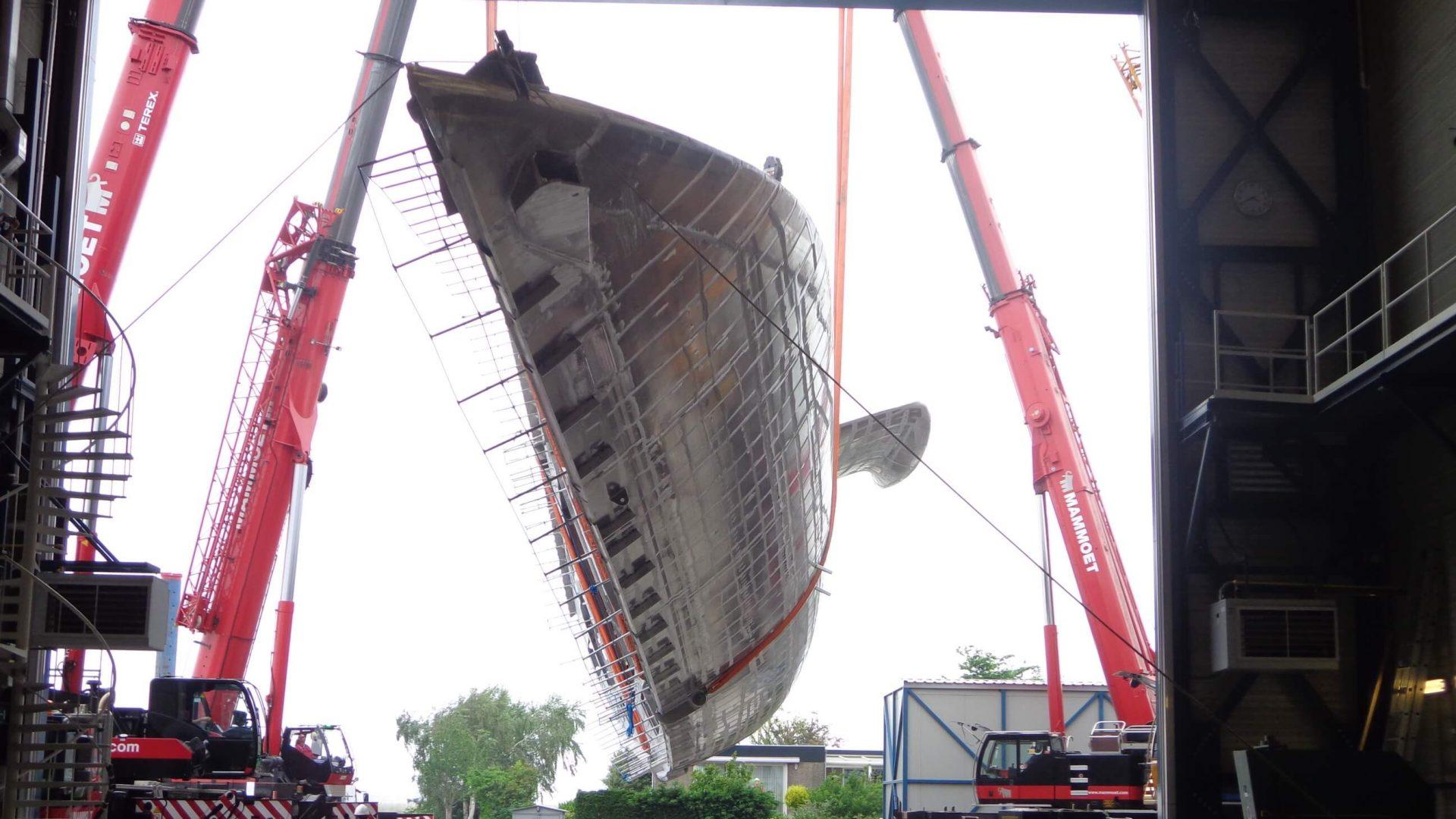 p10 sec Turning hull 399 2