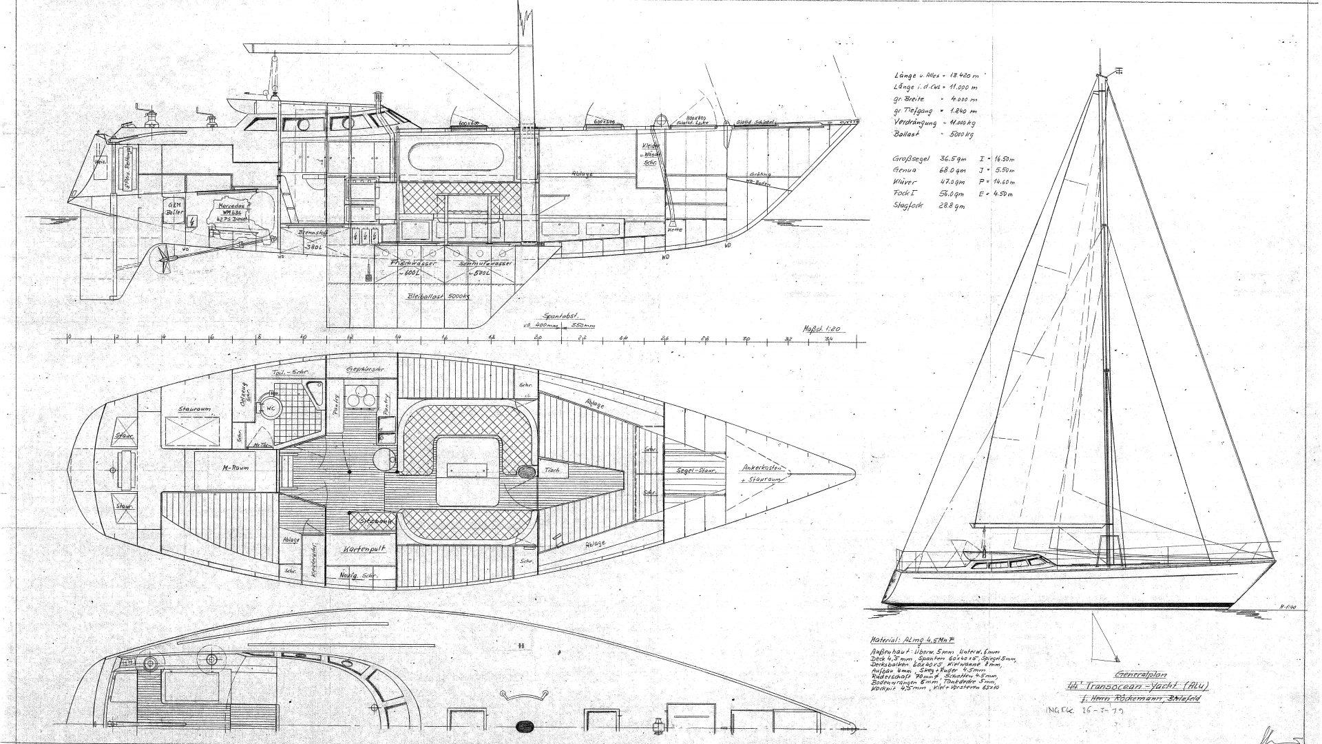 318-HEGlacer Generalplan Transocean yacht