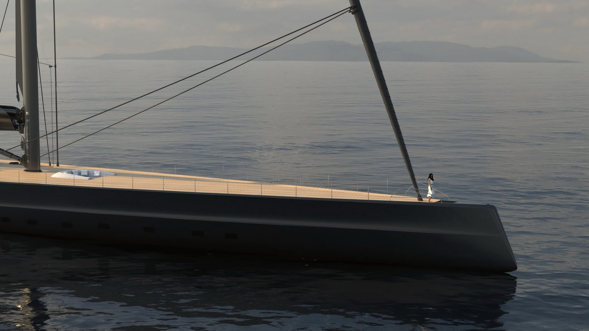 APEX 850 rendering by Solidwave - at anchor fwd c2res