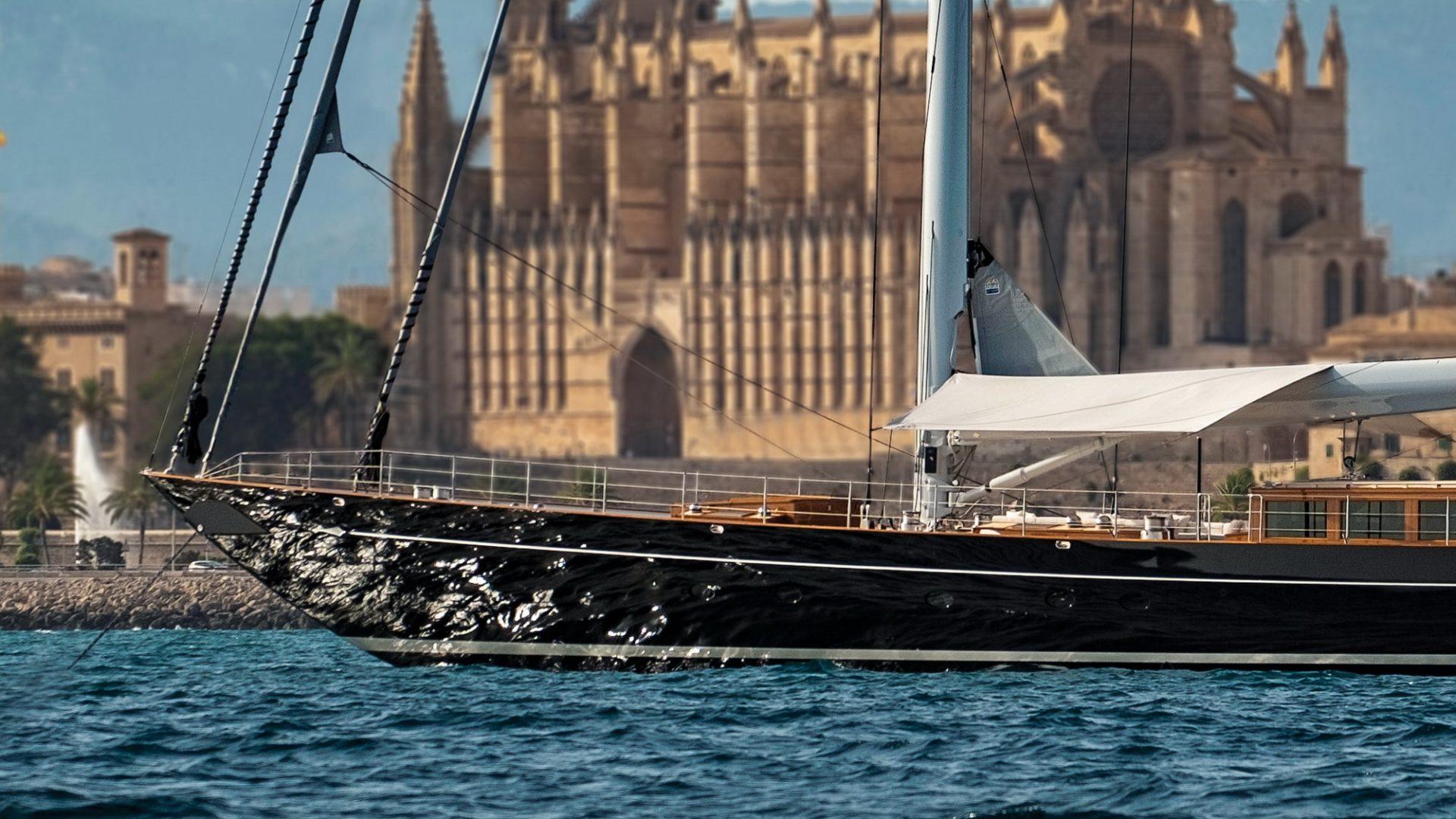 04/07/18  Royal Huisman s/y Aquarius Launching Photo-Shooting  Palma de Mallorca, July 2 - 5 / 2018  © Carlo Baroncini Photography